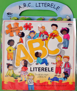 A, B, C... Literele, Puzzle didactic, Editura Prut