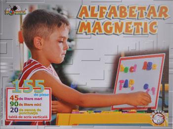 Alfabetar magnetic, 155 piese, Noriel Maxim