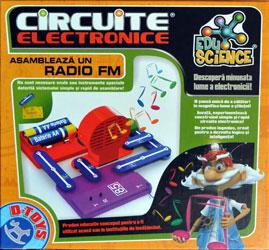 EduScience: Circuite electrice - asambleaza un radio FM , D-Toys