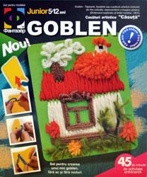 Cusaturi artistice pentru copii (goblen)