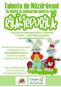 Concursul de creatie pentru copii Rila-Iepurila