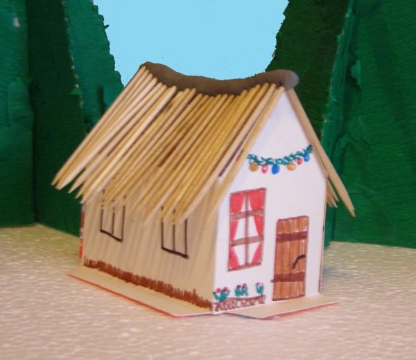 Cabana din hartie