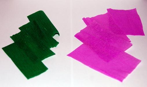 Materiale pentru petale si sepale