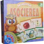 Sa invatam asocierea, joc puzzle educational oferit de D-Toys