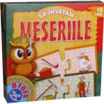 Sa invatam Meseriile, joc puzzle educational, D-Toys