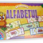 Sa invatam alfabetul, joc educativ oferit de D-Toys