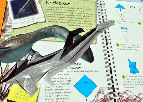 dinozaur-origami