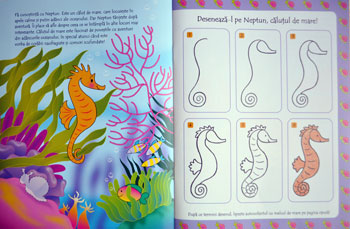 cum sa desenez delfini si alte animale marine teora