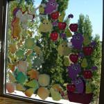 Zâna toamnă, la fereastra clasei...