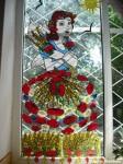 Zâna Vară – decor pentru fereastră