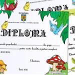 Diplome de sfarsit de an, scolari si prescolari