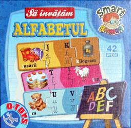 Sa invatam alfabetul. D-Toys