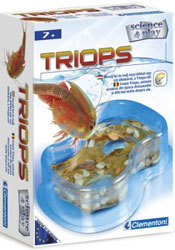 Kit Crustaceu Triops: Clementoni Science & Play