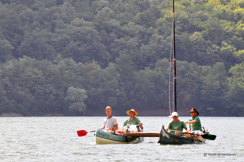 Cum poti calatori pe Dunare