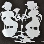 Idei creative: Decorațiuni cu filigran în alb și negru, Editura Casa