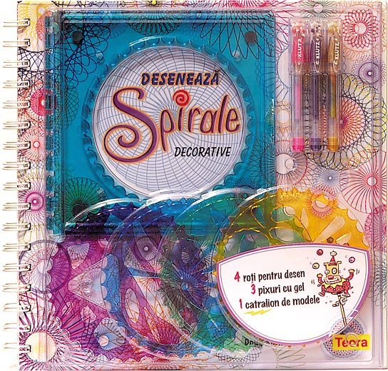 Deseneaza spirale decorative, Klutz