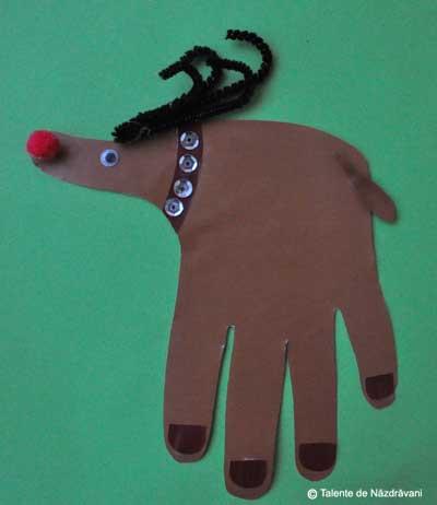 Renul Rudolph, decupaj dupa forma mainii