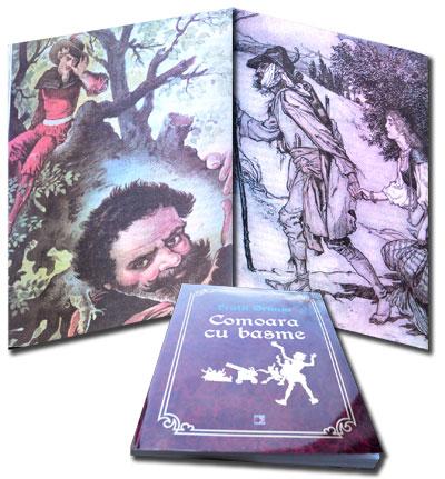 Comoara cu basme, Fratii Grimm, Editura Paralela 45