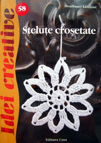 Idei creative 58: Stelute crosetate, Editura Casa