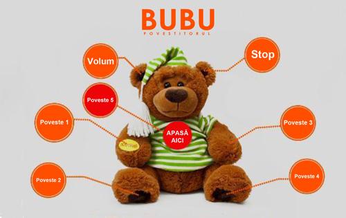 Ursuletul Bubu povestitorul