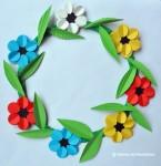 Coronita de primavara (Idei creative: Obiecte decorative din hârtie)