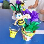 Albinute din ghivece de ceramica