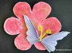 Fluture din evantai