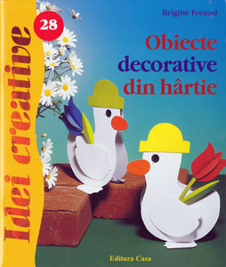 Idei creative 28 Obiecte decorative din hartie