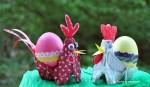 Jucarii din cofraje de oua, Idei creative nr. 73, editura Casa