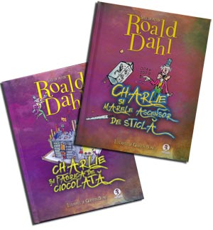 Charlie si Fabrica de ciocolata, Marele ascensor de sticla - Roald Dahl