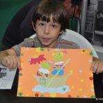 Decupaj cu broscute - atelier impreuna cu Editura Casa la Bookfest