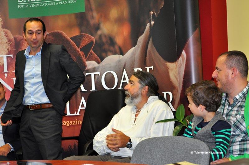 """Calin Ianta - Fondator si actionar, director inovare (daca am retinut bine, responsabilul cu dulceata de fructe de padure). Alaturi, Mugur Pop, \""""Dacul\"""""""