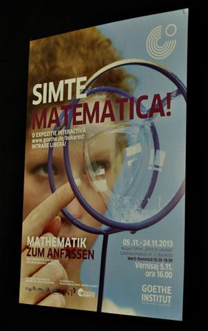 Simte matematica! Expozitie interactiva la Muzeul National Tehnic Dimitrie Leonida