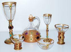 Serviciul de cristal al principesei Maria, 1906