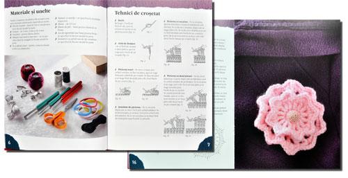Accesorii crosetate, idei creative 77, editura Casa