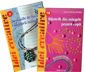Bijuterii din margele pentru copii, Idei creative 78, editura Casa