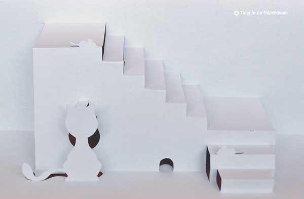 kirigami - pisicuta