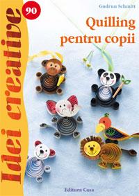 Quilling pentru copii, idei creative, 90