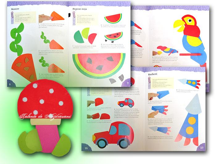 Figurine din cerculete de hartie, Idei creative, editura Casa