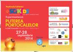 SciK!DS Festivalul Stiintei vine pe 27-28 septembrie la Mall Promenada