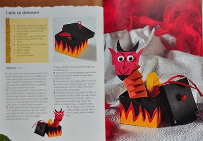 Idei creative nr. 52, Figurine hazlii din hârtie