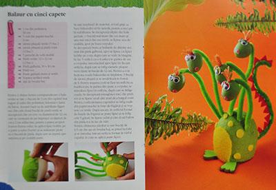 Idei creative nr. 60, Figurine din sârmă pluşată