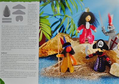 Idei creative nr. 73, Jucării din cofraje de ouă