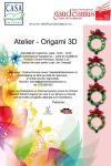 Origami 3D – atelier la Gaudeamus – 22 noiembrie 2014