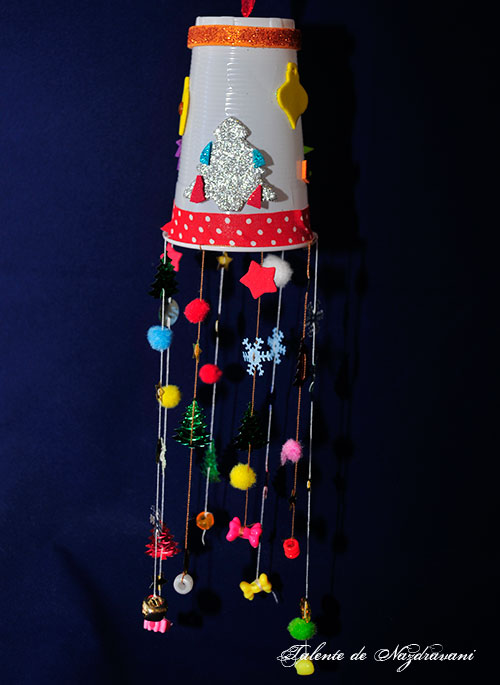Decoratiune cu ghirlande (*7)