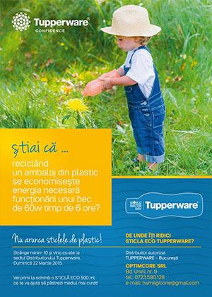 Incepe primavara oficial cu o actiune de reciclare de Ziua Mondiala a Apei