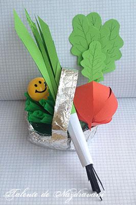 Legume de primăvară: ceapă, ridiche, salată