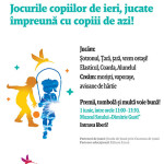 De 1 iunie, laMuzeul Satului din București, copilărim ca altădată