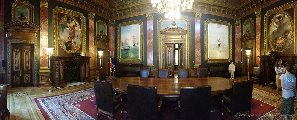 sala consiliu muzeul BNR