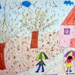 Viziune la 7 ani despre prima zi de școală. (Theodora N.)